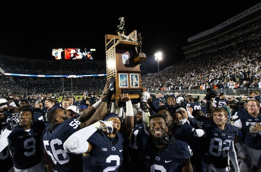 Penn State stays at No. 7 ahead of Big Ten championship game