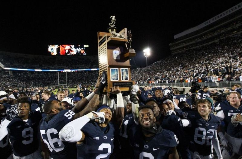 Penn State takes home big-time hardware with win over Spartans