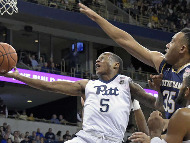 Pitt falls to Notre Dame in overtime, 78-77