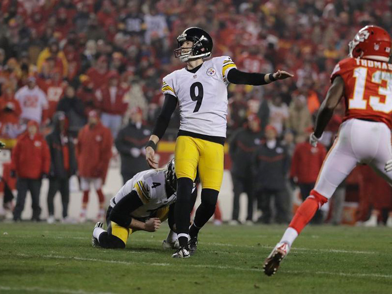 Steelers hold on to 18-16 playoff victory over Chiefs
