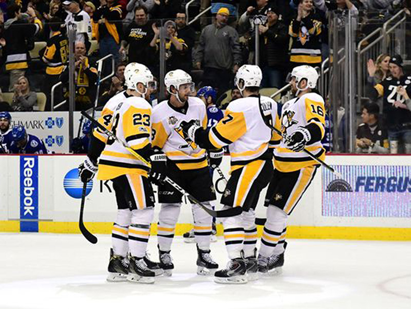Penguins haven't missed a step in first game of 2017