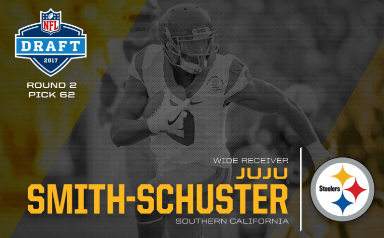 JuJu Smith-Schuster: JuJu Smith-Schuster goes to Steelers at 62