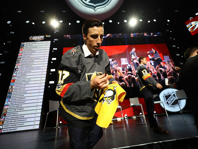 Marc-Andre Fleury heads to Las Vegas as part of expansion draft