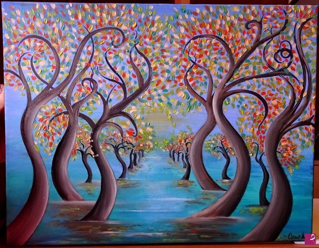 Vendita quadro Dipinto ad olio su tela quotLuce di