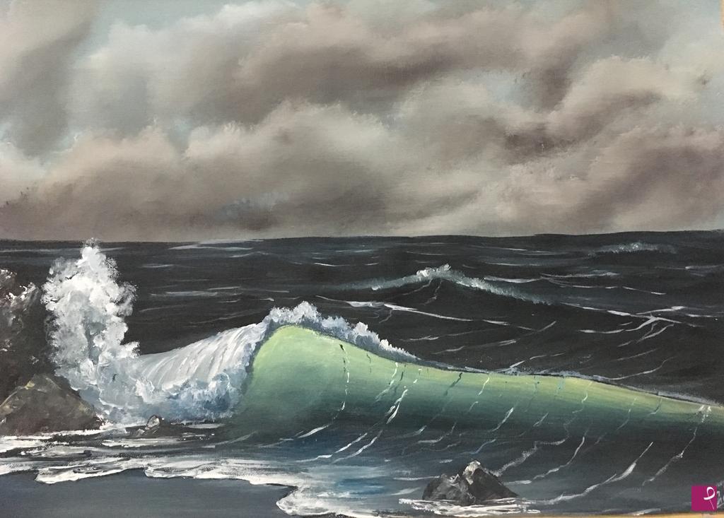Vendita quadro  Mare in Tempesta  E Ornato  PitturiAmo