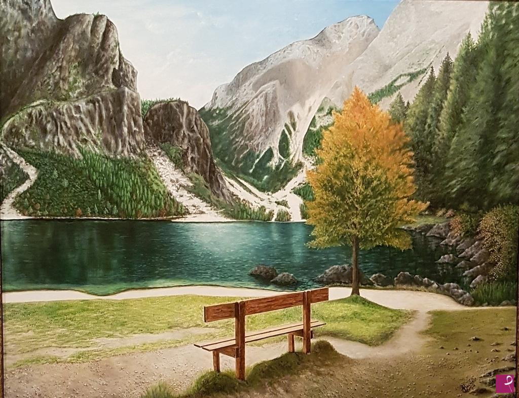 Vendita quadro  Paesaggio di montagna  Giacomo Ianniello