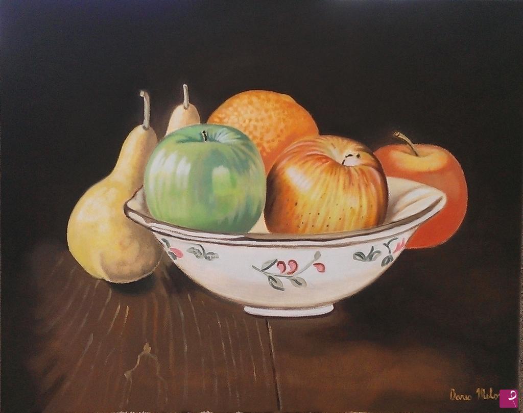 Vendita quadro   Semplicit natura morta dipinto a mano