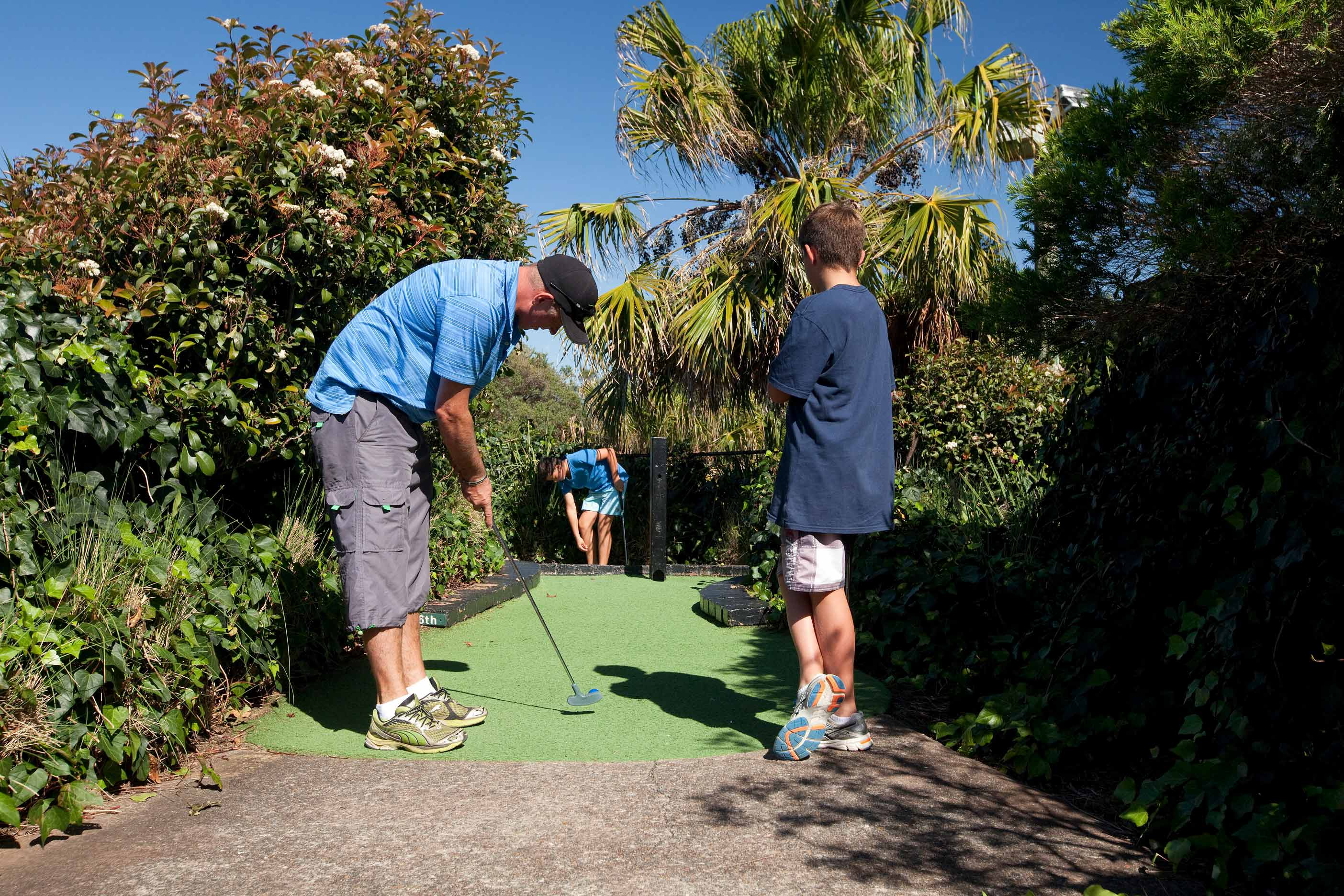 Mini Golf on the Northern Beaches