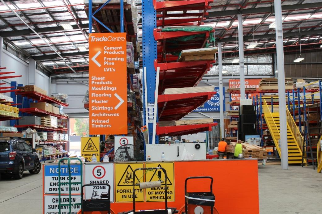 hanging chair mitre 10 cover rental miami florida pittwater online news johnson brothers trade centre at mona vale issue no 1 of s insite magazine for tradies and handymen