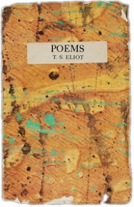 Book Cover - Poems by T.S. Eliot