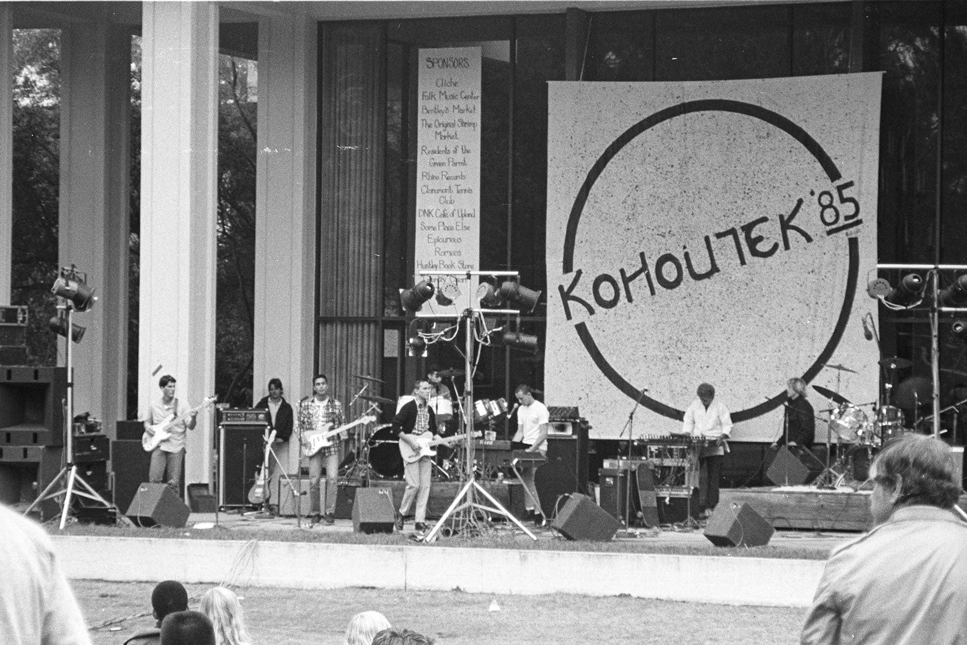1985 - Kohoutek on the McConnell Apron