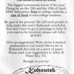 1996 Kohoutek poster
