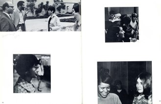 Pages from Pitzer College Yearbook, 1968