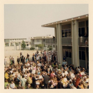 Commencement Ceremony Audience, 1968
