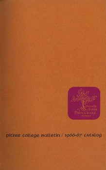 Cover of Pitzer College Bulletin, Vol. 4, No. 2, 1966-1967