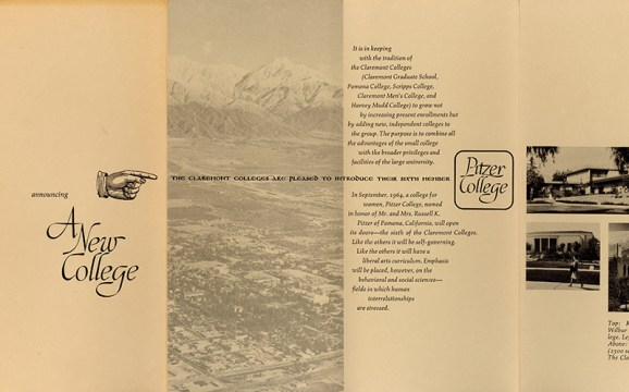 Announcing a New College, 1964