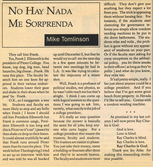The Other Side: November 22, 1988, Vol. 13, Issue 7, page 11