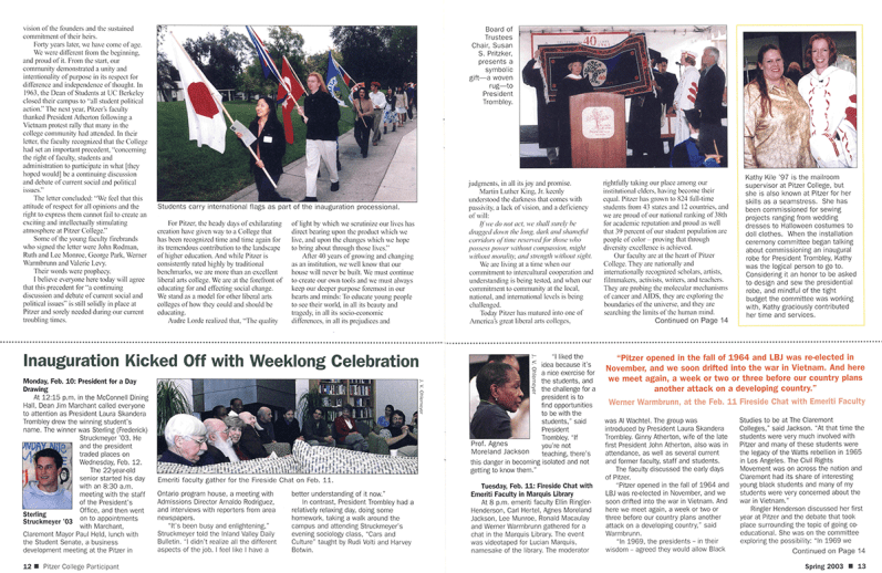 The Participant: Spring 2003, pages 12-13