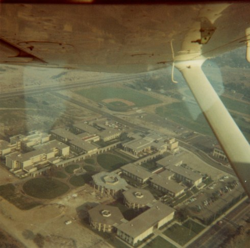 Aerial View of Pitzer Campus, undated
