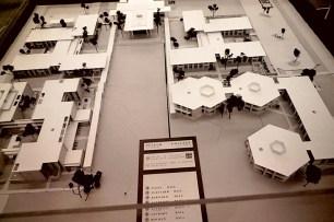 Model of Pitzer College Master Plan, 1966
