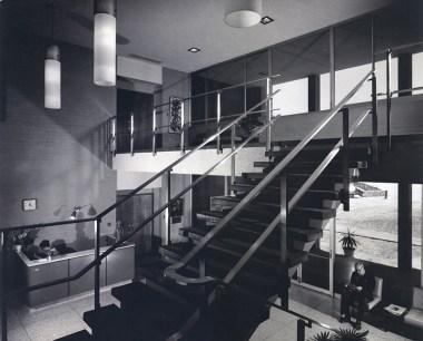 Lobby Staircase, Scott Hall, undated