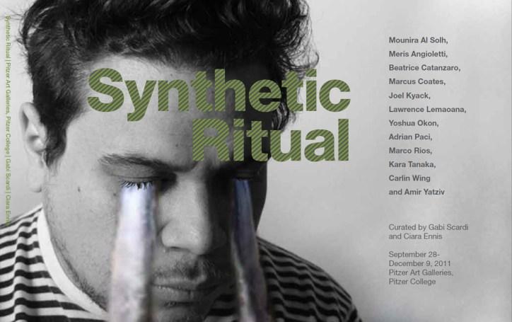 Catalogue cover - Synthetic Ritual