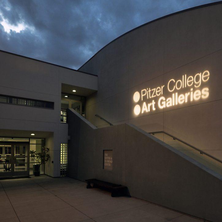 Pitzer College Art Galleries logo