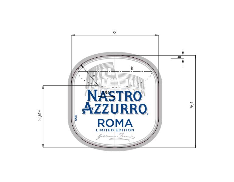 NASTRO AZZURRO ROMA LIMITED EDITION