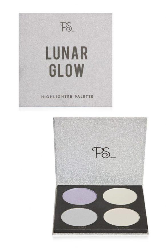 PS... Lunar Glow Highlighter palette _ Primark euro 6