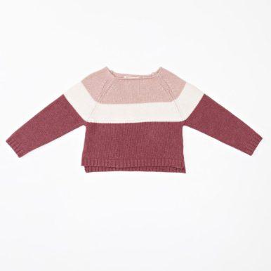 Malvi&Co maglia in cotone tricot