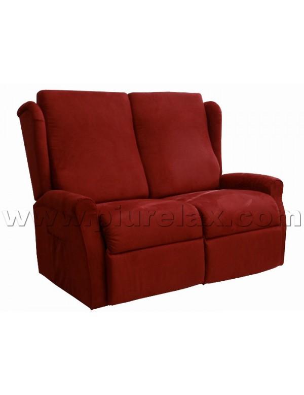divano due posti una seduta alzapersona reclinabile un motore