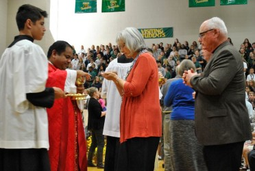 founders days grandparents day mass