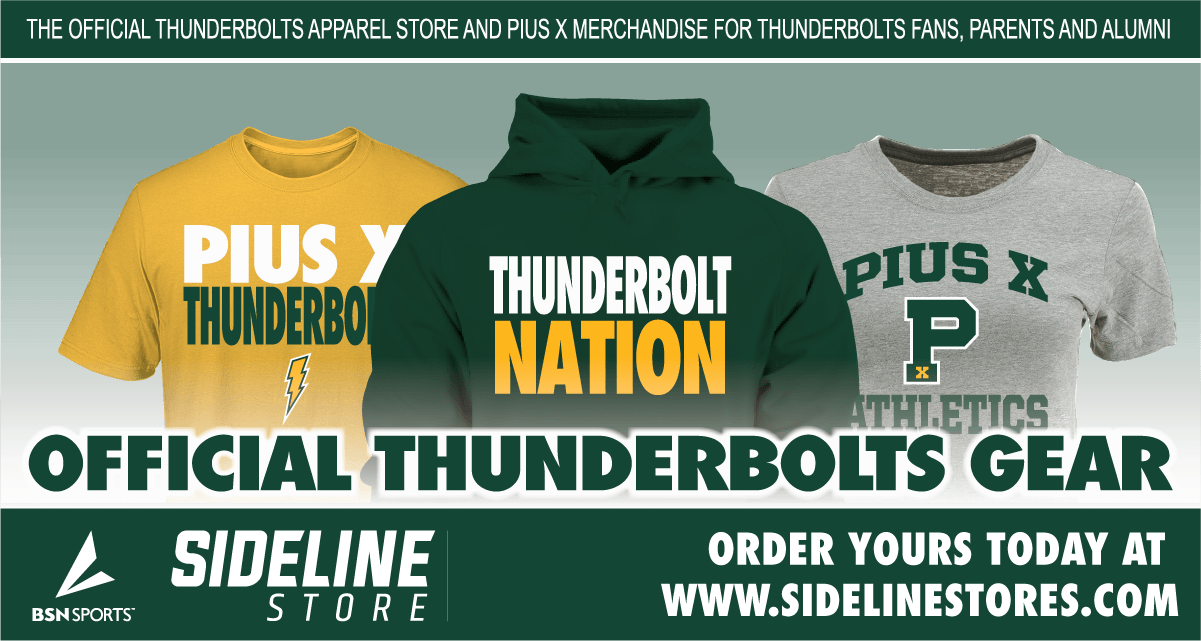booster club thunderbolt gear
