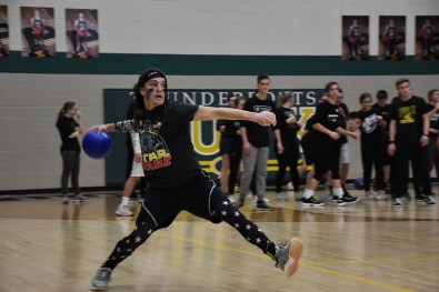 dodgeball pep rally