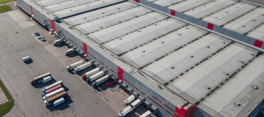 distribution centres with inventory