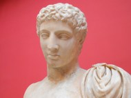statue of Hermes - National Archaeological Museum of Athens