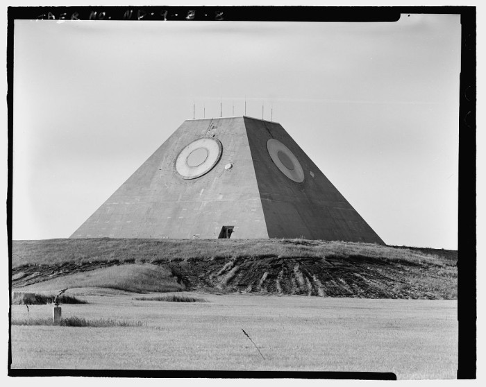 Missile Site Control Building in North Dakota