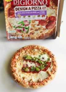 DiGiorno Design a pizza kit, Nestle