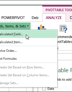 Calculateditemfield also calculated field vs item excel pivot tables rh table