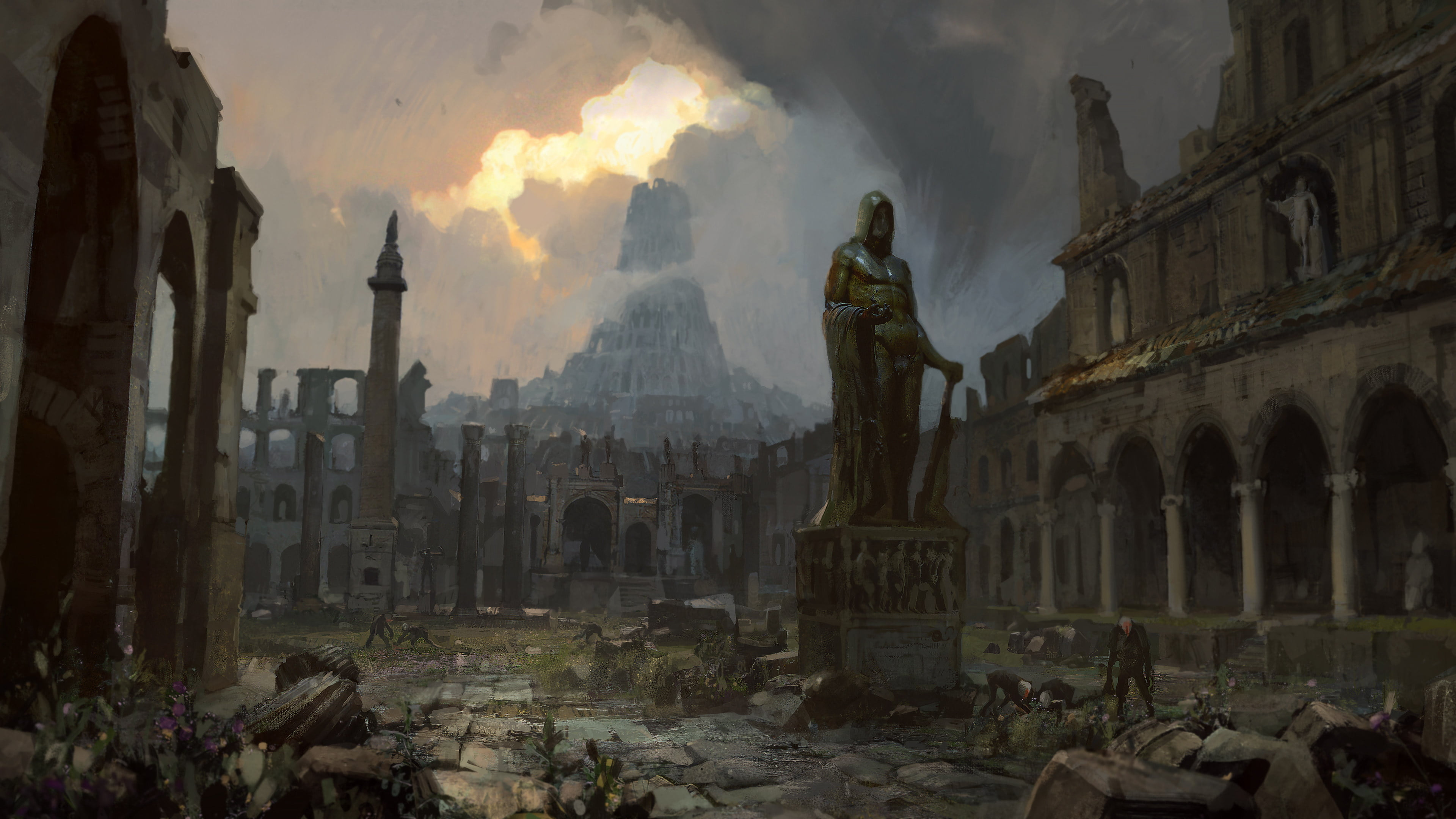 Poe Fall Of Oriath Wallpaper Path Of Exile Pivotal Gamers