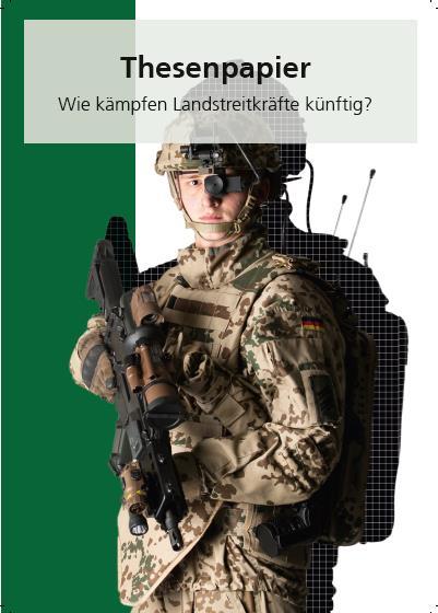 """Cover von """"Thesenpapier - Wie kämpfen Landstreitkräfte künftig?"""""""