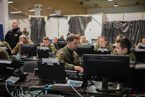 "NATO battle staff training ""Griffin Lightning"" at Multinational Corps Northeast Headquarter 2019 at Szczecin, Poland"
