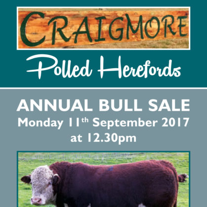 Craigmore Herefords - 11 September 2017