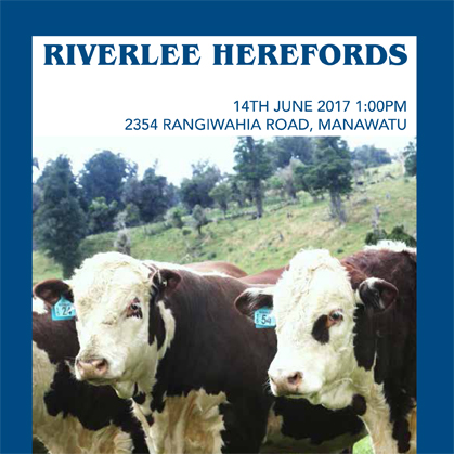 Riverlee Herefords - 14 June 2017