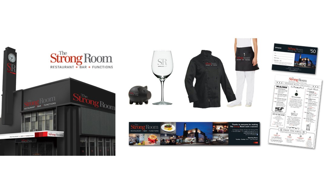 The Strong Room Branding