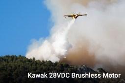 Kawak 28VDC Brushless Motor