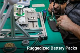 Ruggedized Battery Pack Board Assembly