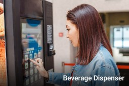 Touch Screen - Beverage Dispenser