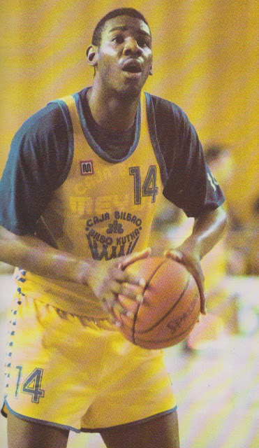 Caja Bilbao, temporada 87-88 (Foto: Gigantes del Basket)