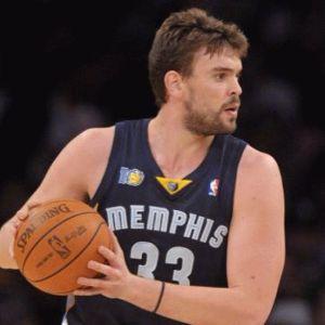 Fuente: www.fantasybasketballmoneyleagues.com Marc seria uno de los pívots con quien le gustaría jugar a David